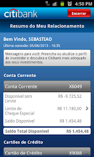 Citi Mobile BR- screenshot thumbnail