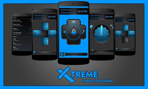 XTreme Screen Lock Theme
