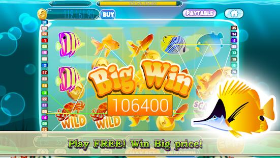 Amazing Fish Slot Machine screenshot
