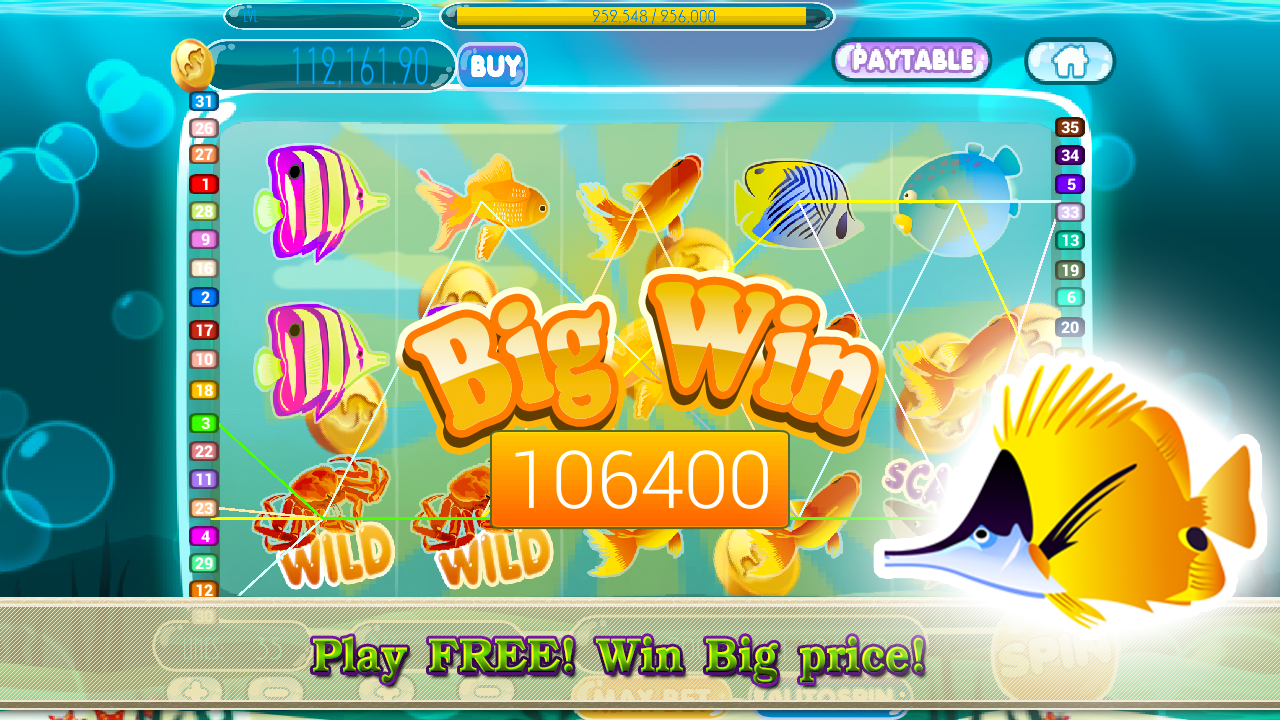 Amazing fish slot machine android apps on google play for Fish slot machine