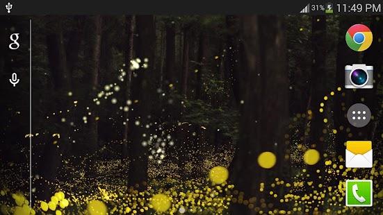 叢林螢火蟲動態桌布 個人化 App-癮科技App