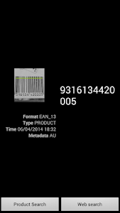 Quick Barcode Scanner screenshot 2