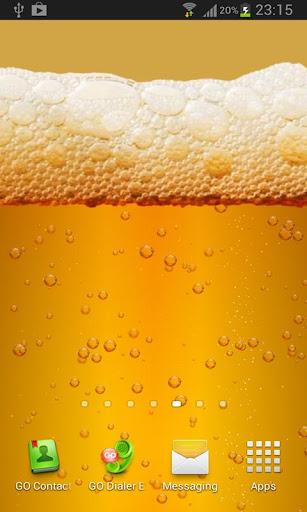 【免費個人化App】Beer & Battery level LWP Pro-APP點子