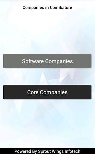 Companies in Coimbatore