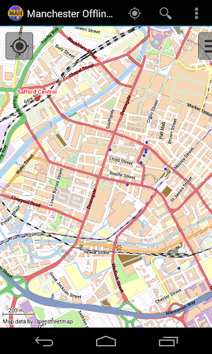 Manchester Offline City Map