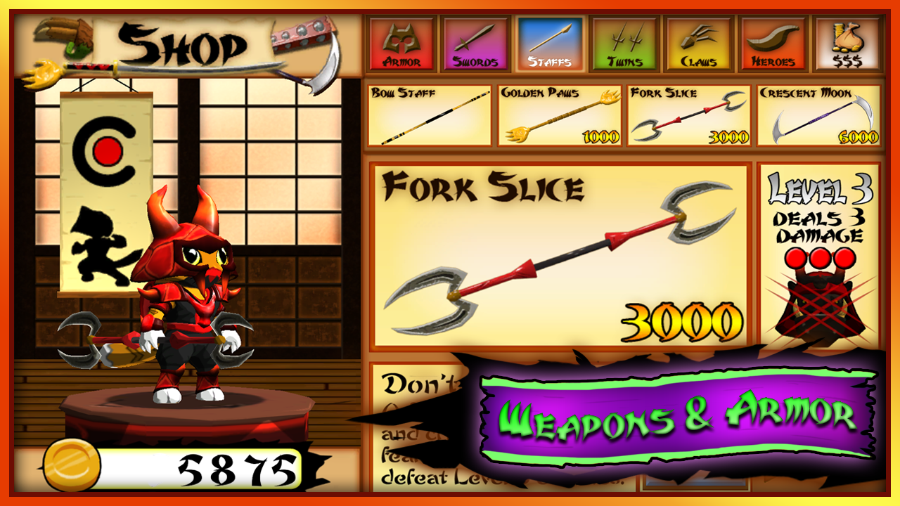 Ninja Kitty- screenshot