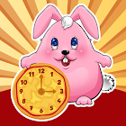 Telling Time With Rabbit icon