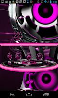 Screenshot of Next Launcher Theme 3D Pink