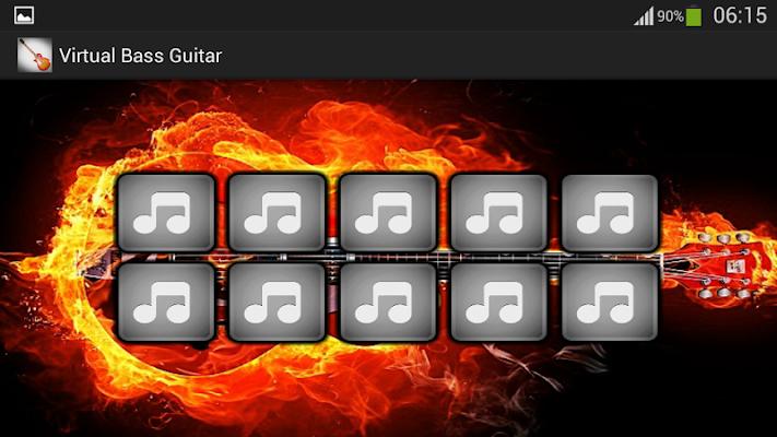 Virtual Bass Guitar - screenshot