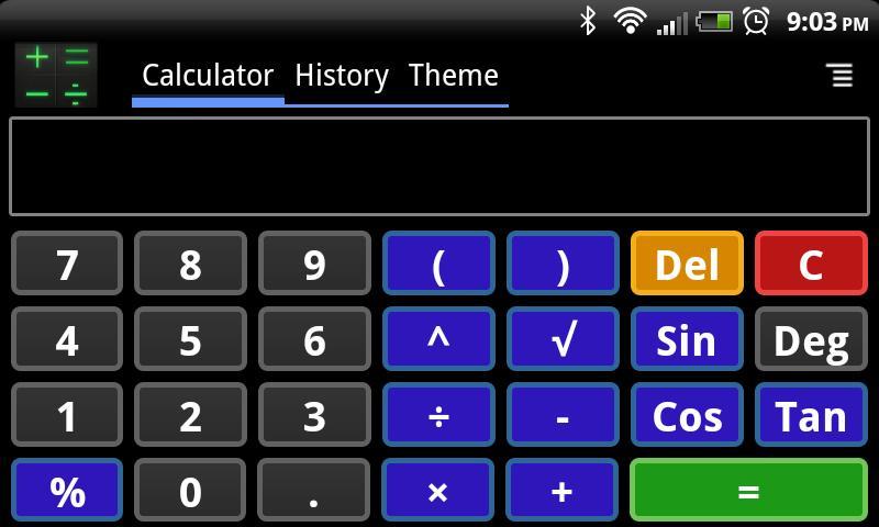 Smart Calculator - screenshot
