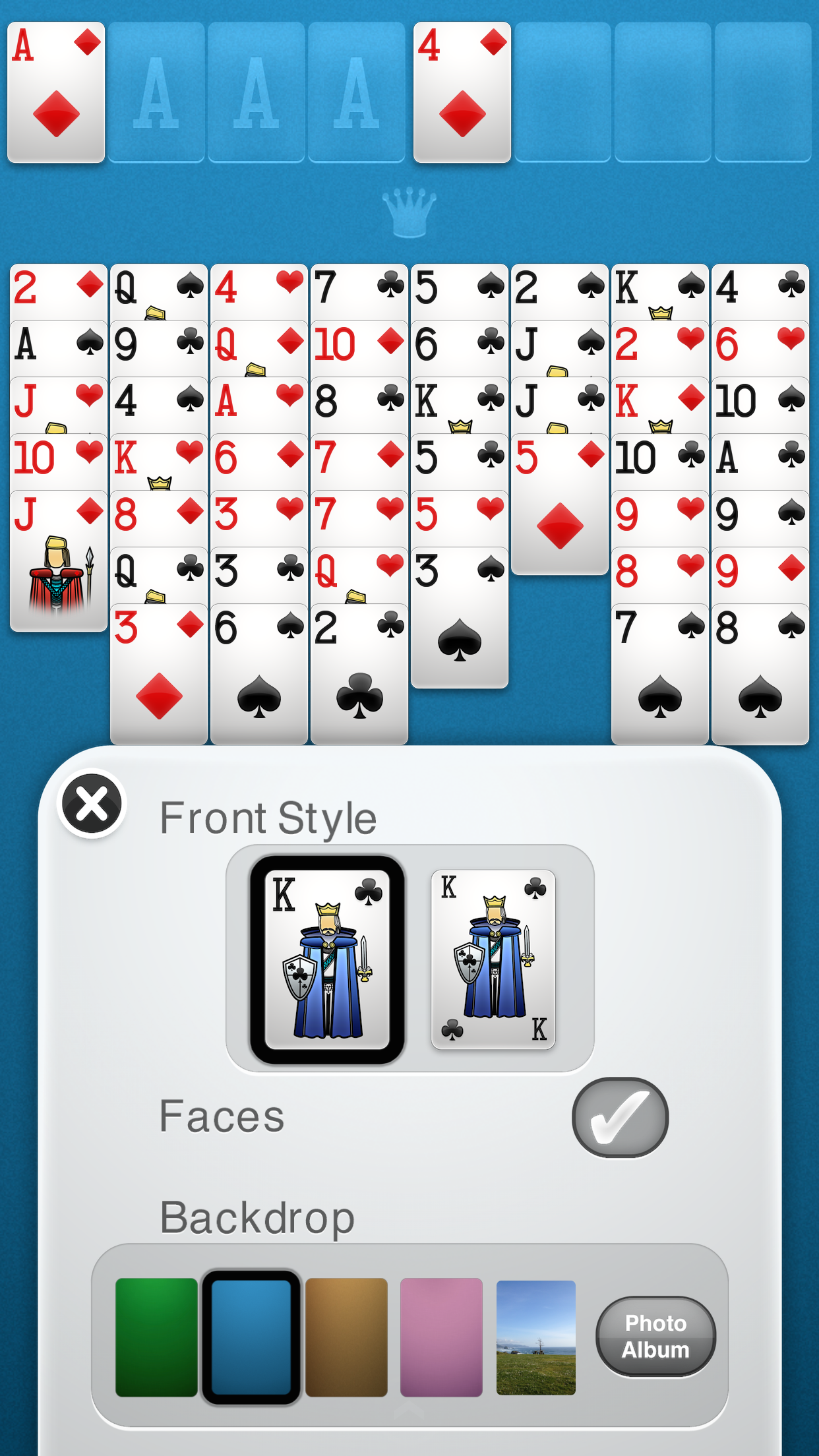 FreeCell Solitaire screenshot #4