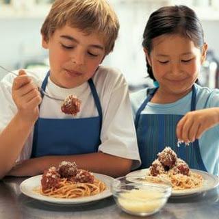 Favorite Spaghetti & Meatballs
