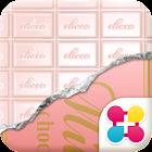 巧克力草莓 糖果桌布・主題 icon