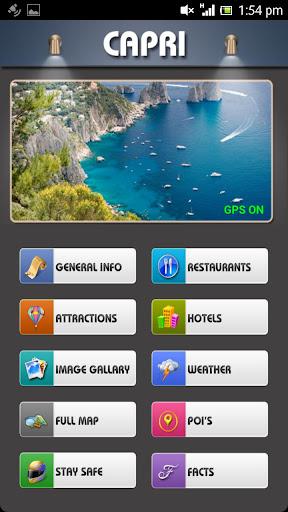 Capri Offline Map Travel Guide