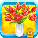 История цветок icon