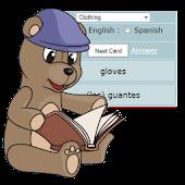 Spanish - English Flash Cards