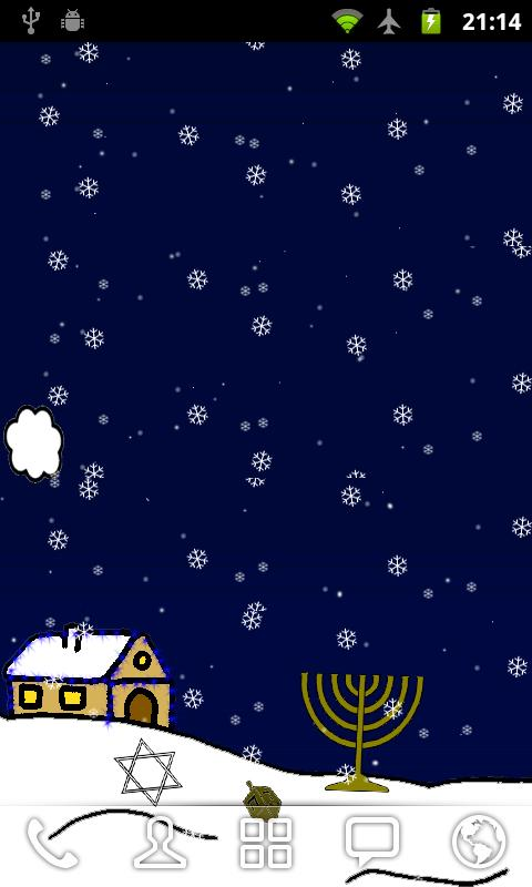 Hanukkah Live Wallpaper Free - screenshot