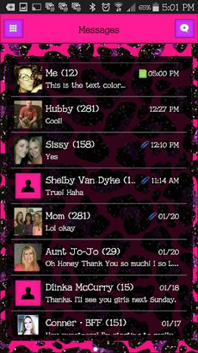 GO SMS THEME - EQ3