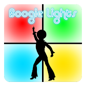 Boogie Lights White Tile Disco