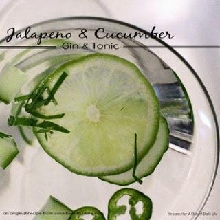 Jalapeño & Cucumber Gin & Tonic