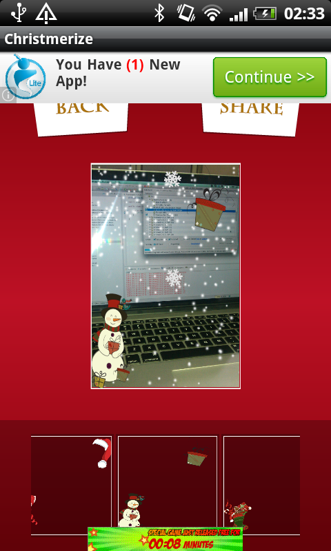 Christmerize Your Photo - screenshot