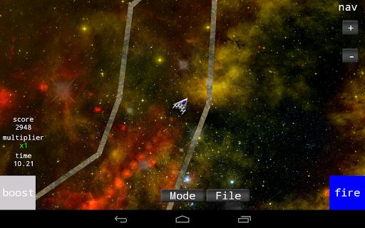 Asteroid Maze