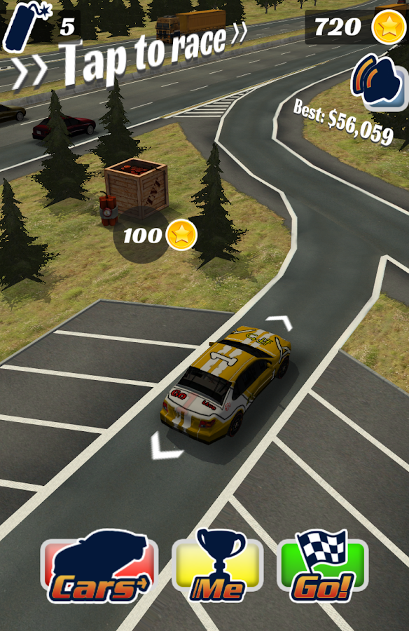 Highway Crash Derby- screenshot