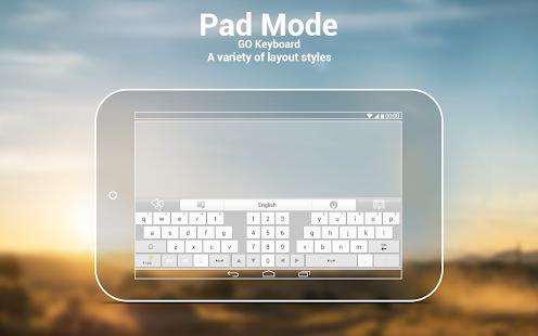 GO Keyboard Plugin- Tablet,Pad- screenshot thumbnail