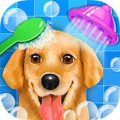 Puppy Dog Salon - Kids Games