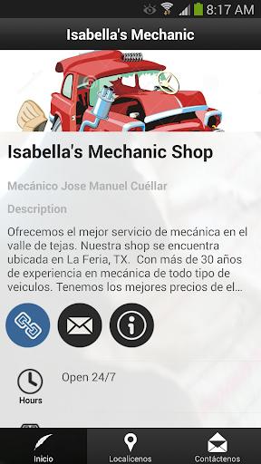 Isabella's Mechanic Shop