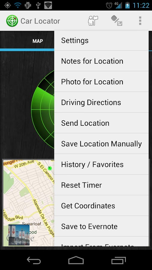 Car Locator- screenshot