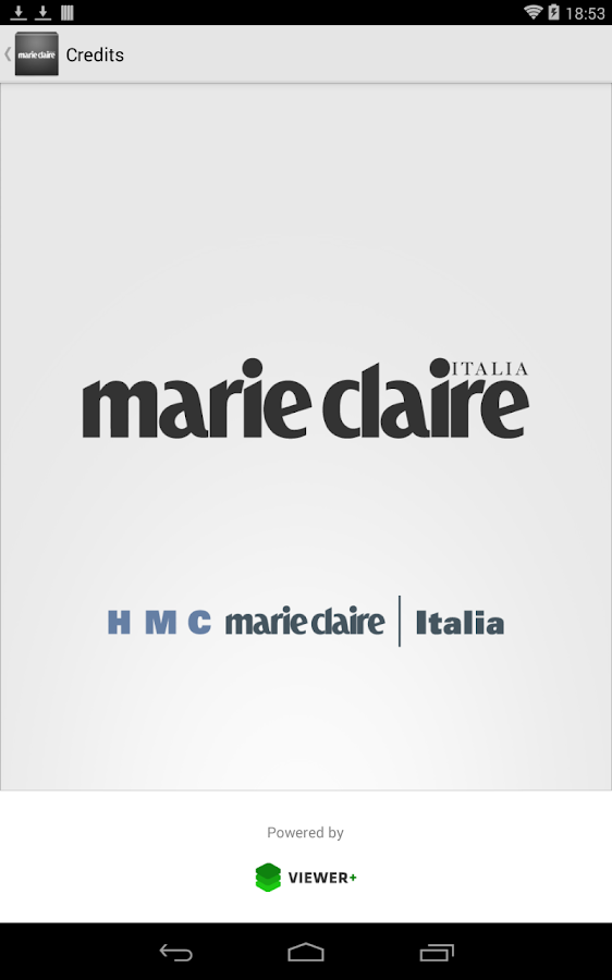 Marie Claire Italia- screenshot