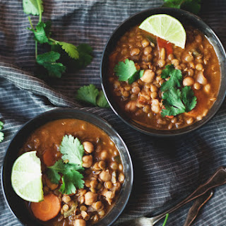 Lentil and Coconut Curry Stew.