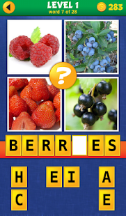 4 Pics 1 Word: More Words- screenshot thumbnail