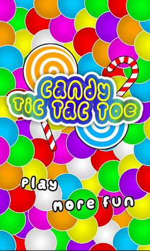 Candy Tic Tac Toe