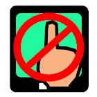 TouchGuard(touch panel lock) icon