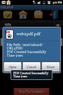 【免費商業App】Web site to PDF Converter-APP點子