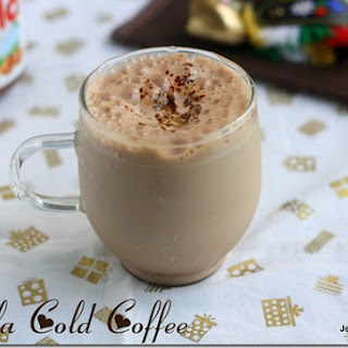 NUTELLA COLD COFFEE.