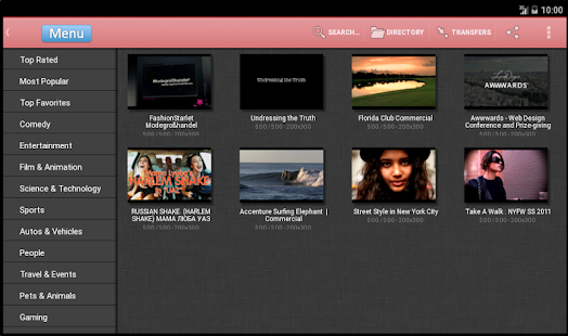 MaxiMp4 videos free download APK for Blackberry
