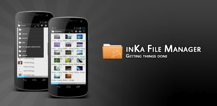 একটি নতুন Android file manager নিয়ে নিন,inKa File Manager plus v0.6.9.1