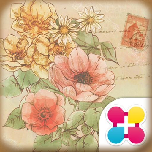 花のイラスト壁紙 Anemone 無料きせかえ Icon