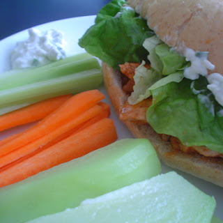 Buffalo Chicken Sandwiches.