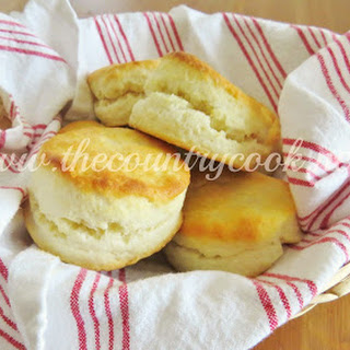 Cream Biscuits {Only 2 Ingredients!}
