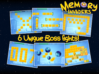Memory Invaders FREE- screenshot thumbnail