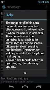 3G Manager - Battery saver- screenshot thumbnail