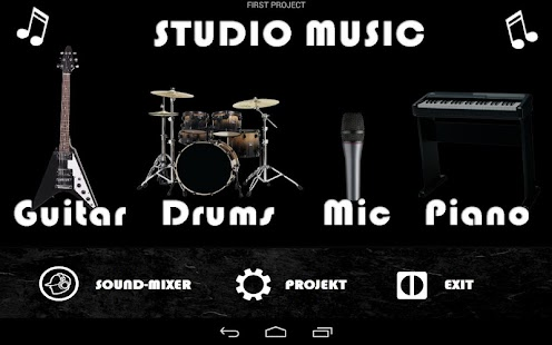 Studio music – garage band