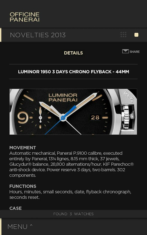 Officine Panerai Catalogue2013 - screenshot