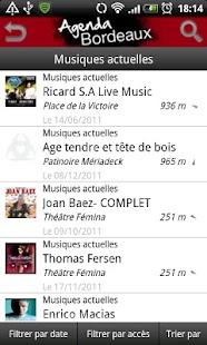 Bordeaux Agenda- screenshot thumbnail