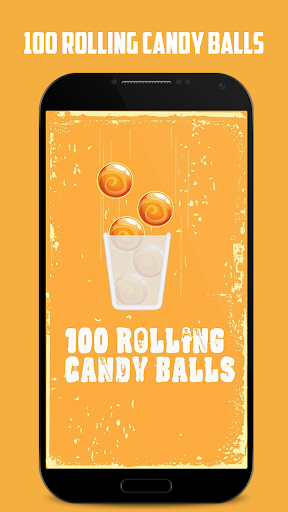 100 Rolling Candy Balls
