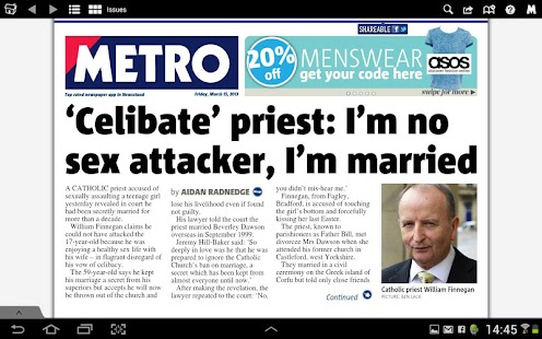Metro Digital Edition- screenshot thumbnail